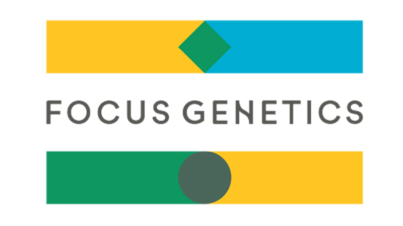 sales impact client testimonial logo Focus Genetics