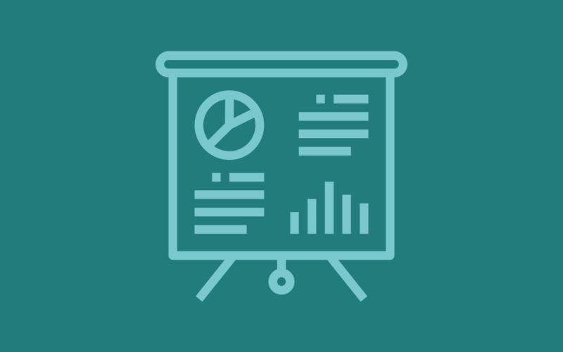 sales impact icon chart