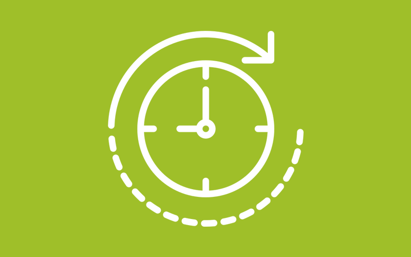 sales impact Reduced sales cycle time icon